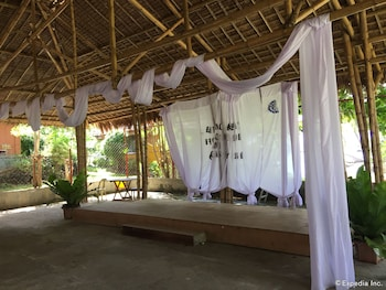 Flower Beach Resort Bohol Outdoor Banquet Area