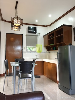 A Family Apartelle Bohol In-Room Kitchenette