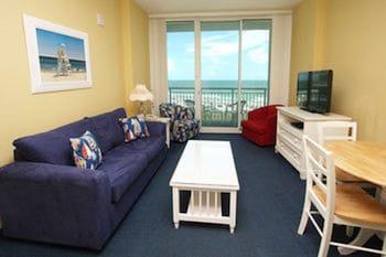 Units at Avista Resort by Elliott Beach Rentals - Living Area  - #0