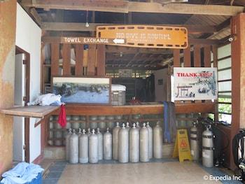 Planet Dive Anilao Equipment Storage