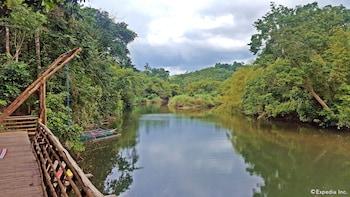 Love And Peace Deep Jungle And River Resort Palawan Lake View