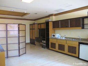 Hollywood Suites Bulacan In-Room Kitchenette
