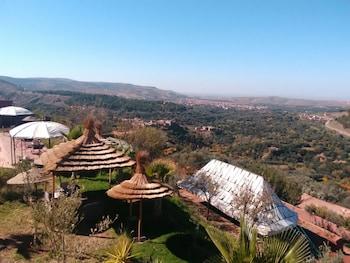 Kasbah Ait Oumghar Iminifri - Aerial View  - #0