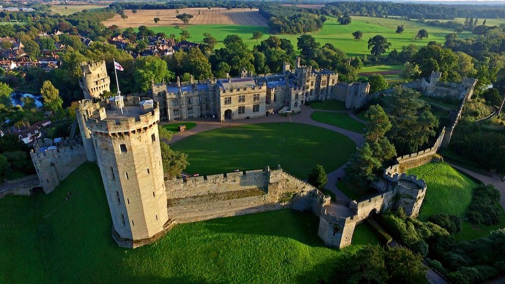 Warwick Castle Knight's Village