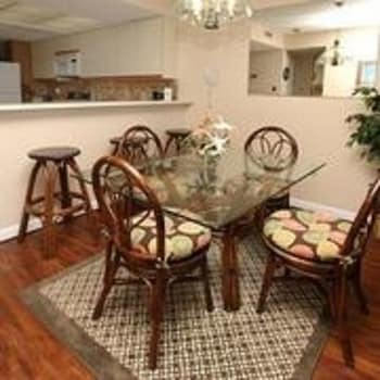 Units at Windemere by Elliott Beach Rentals - In-Room Dining  - #0