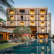 曼谷銀棕櫚拉馬 9 飯店