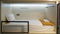One Bunk Bed in Male Dormitory Room