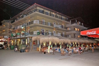 El Greco Beach Hotel - Hotel Front - Evening/Night  - #0