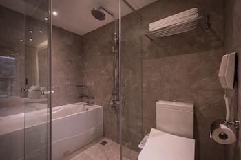 Green World Hotel Songshan - Bathroom  - #0