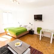 珍努爾嘉瑟入住維也納公寓飯店