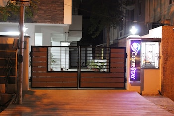 Treebo Cozee Stay - Hotel Front - Evening/Night  - #0