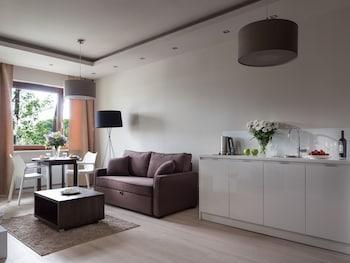 Varsóvia: CityBreak no Platinum Residence Mokotów desde 37,60€