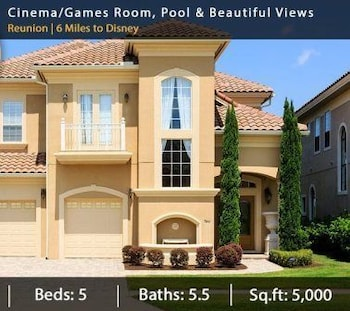 Cinema Game Room Pool and Views 5 Br home by RedAwning