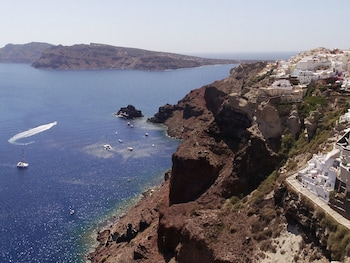 Canaves Oia Sunday Suites - Aerial View  - #0