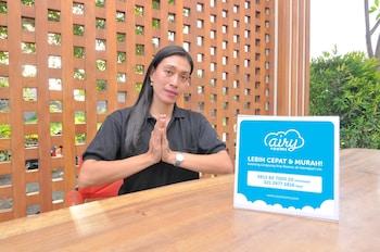 Airy Denpasar Selatan Tukad Badung 9 Bali - Reception  - #0