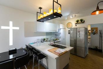 54 park Hostel - In-Room Kitchen  - #0
