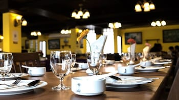 Suvarnabhumi Ville Airport Hotel - Breakfast Area  - #0