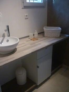 Gîte Les Aludes - Bathroom Sink  - #0