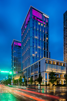 Courtyard by Marriott Xinchang - Hotel Front - Evening/Night  - #0