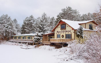 The Riverside Motel in Hayward, Wisconsin