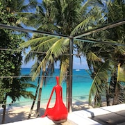 日落海灘開放式公寓飯店