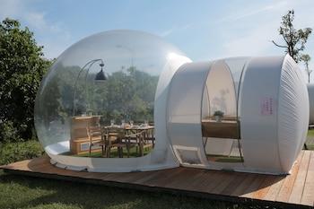 泡泡窩-八里文化公園露營區