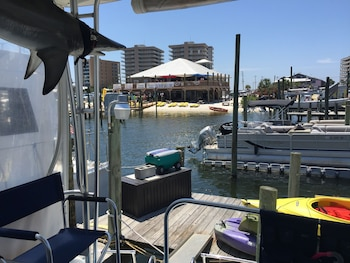 Classic Yacht Rentals at FloraBama - Balcony View  - #0