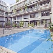 我的空間巴塞隆納加西亞泳池中心飯店