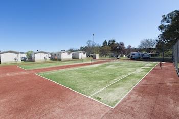 Fossickers Tourist Park - Tennis Court  - #0