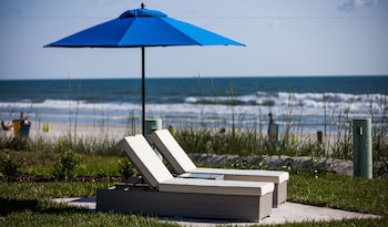 The Salty Mermaid Oceanfront Hotel in New Smyrna Beach, Florida