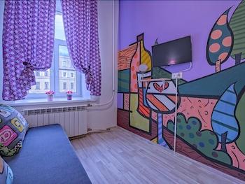 Apartments Griboedov Art - Living Area  - #0