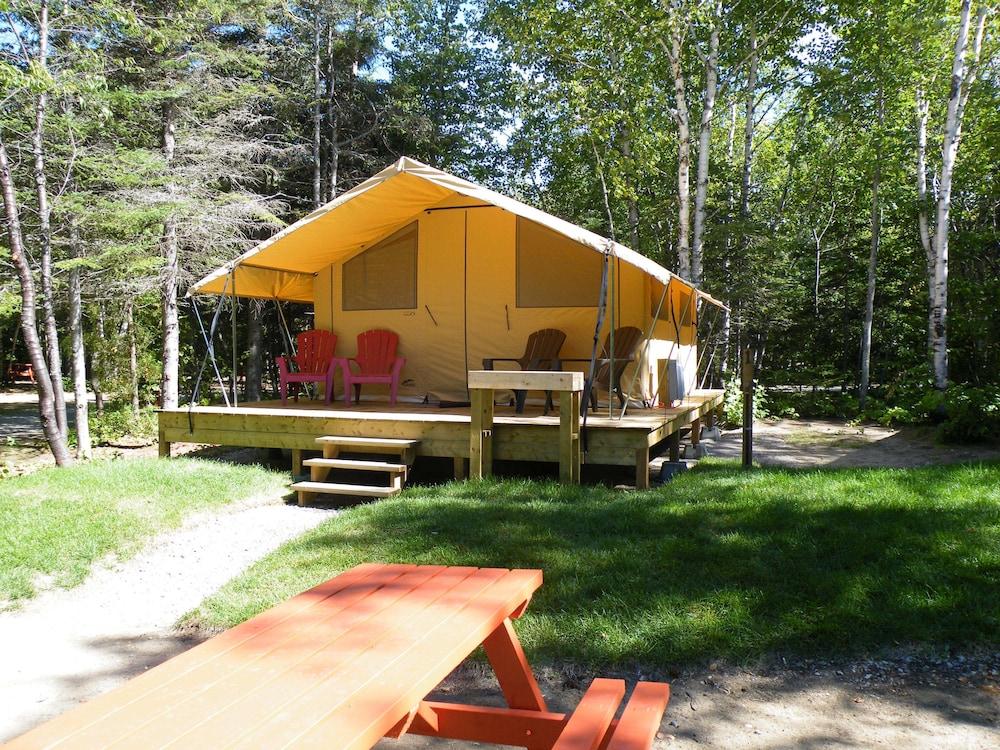 Les Prets a Camper du Camping Tadoussac