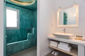 Villa Irini Fira - Bathroom  - #0