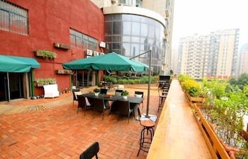 XI'AN JIMU INTERNATIONAL YOUTH HOSTEL - Terrace/Patio  - #0
