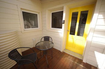 Latrobe Art Apartments - Terrace/Patio  - #0