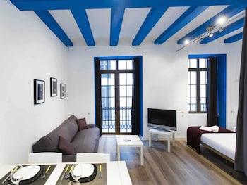 完全瓦倫西亞藍色公寓飯店