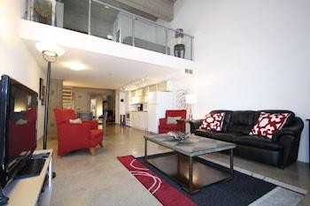 市中心公寓式客房飯店 - 附車庫