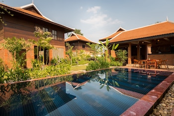 Wooden Residence Villa in Siem Reap