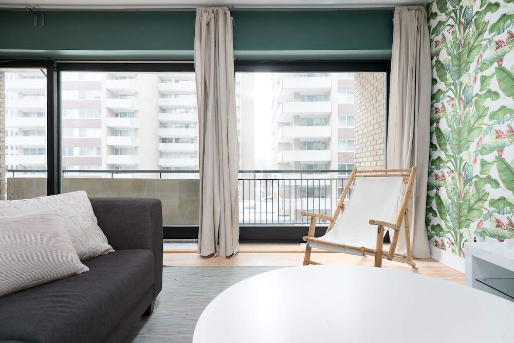 Playful Downtown Montreal Suites by Sonder