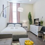 松德爾中央市中心路口開放式公寓飯店