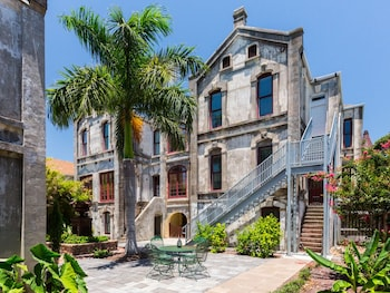 Historic Galveston Family Home by RedAwning
