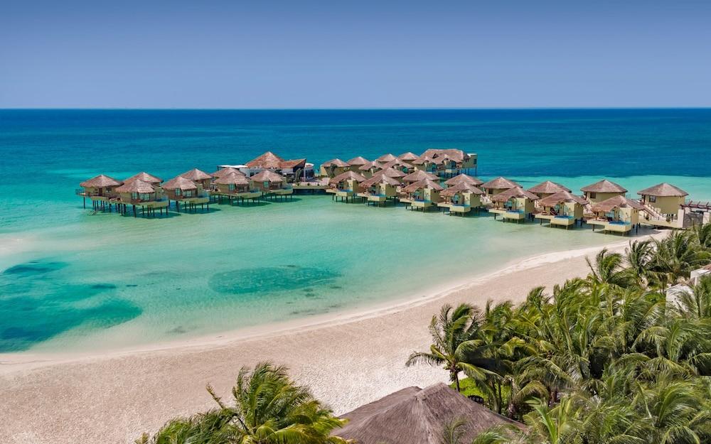 Palafitos Overwater Bungalows at El Dorado Maroma, Gourmet All Inclusi