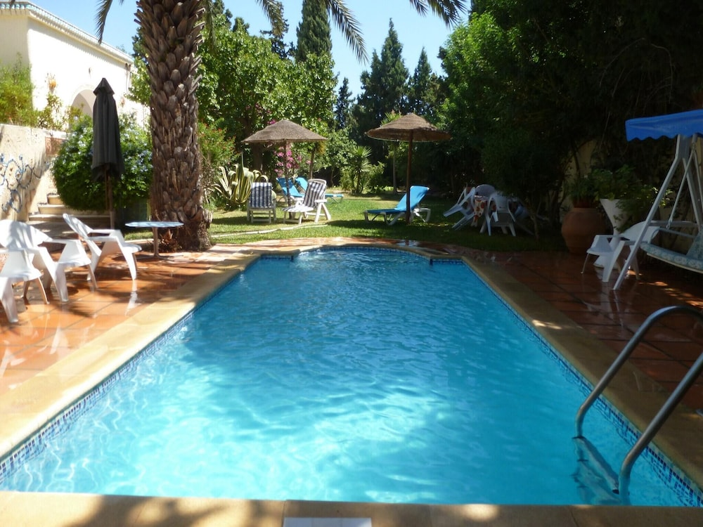 Villa With 4 Bedrooms in Hammamet, With Wonderful sea View, Private Po