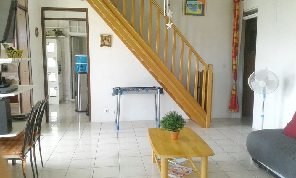 House With 2 Bedrooms in Sainte Anne, With Wonderful sea View, Private
