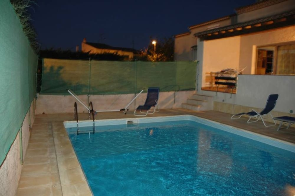 Villa With 3 Bedrooms in Agde, With Private Pool and Enclosed Garden -