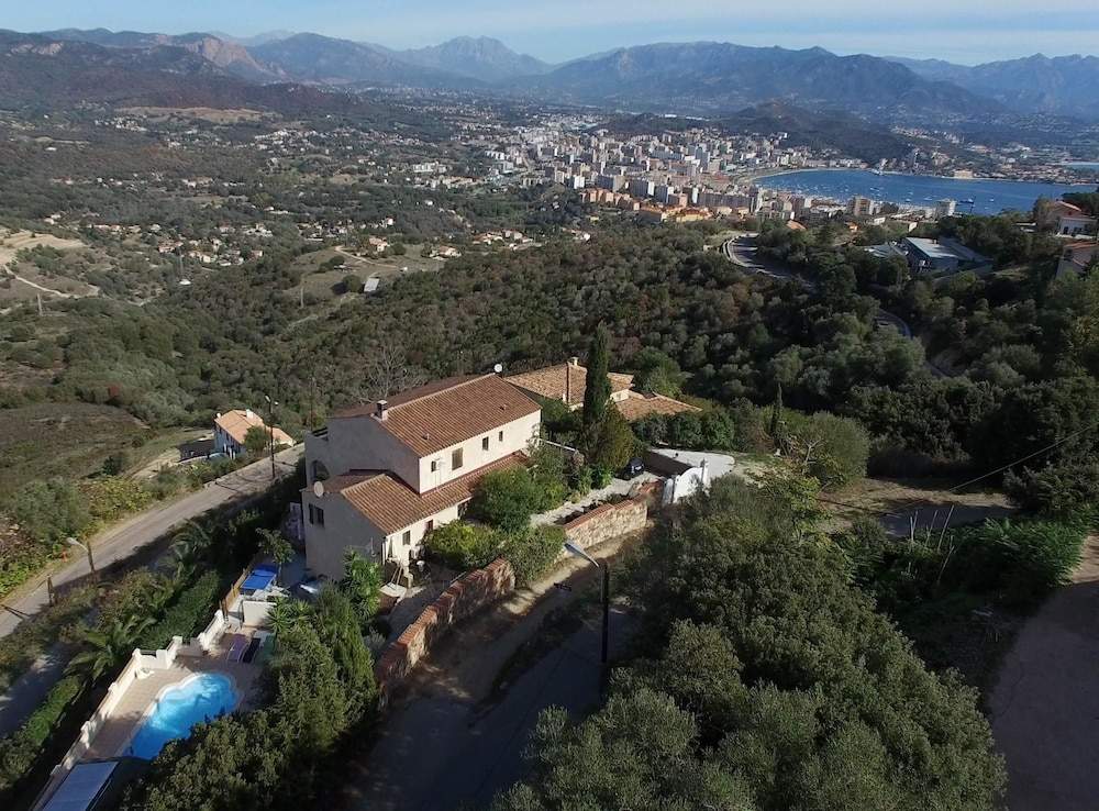 Chalet With 4 Bedrooms in Ajaccio, With Wonderful Mountain View, Pool