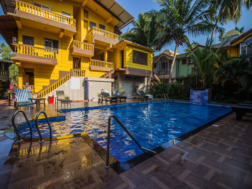 OYO 12480 Home Studio With Pool Aguada Fort