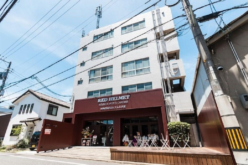RED HELMET House&Sports Bar Hiroshima - Hostel