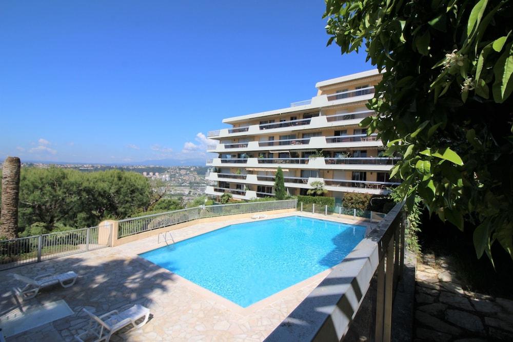 Nice Booking-Bella Vista-Piscine Jardin