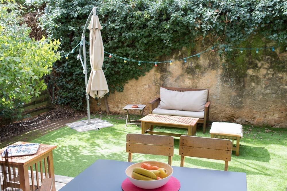 Appartement de Charme une Chambre avec Jardin